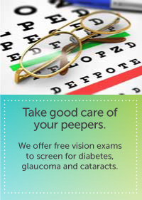 Free Clinic Vision Services